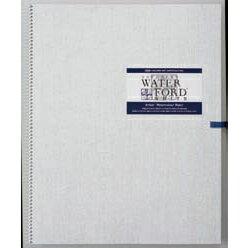 WATER FORD 水彩紙 ホワイト スケッチブック スプリング綴じ F4サイズ (ウォーターフォード/画帳/写生帳/写生帖)