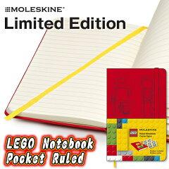 【メール便なら送料160円】モレスキン 限定ノート LEGO ポケット 横罫 LELE14MM710 (MOLE...