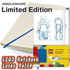 【メール便なら送料160円】モレスキン 限定ノート LEGO ラージ 横罫 LELE14QP060 (MOLESK...