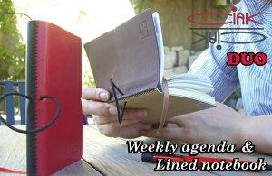 CIAK 2012年 スケジュール帳 CIAK DUO  チアック デュオ ウィークリースケジュール+ノート...
