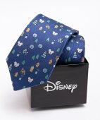 Disney ミッキーマウス プルート モチーフネクタイ:ブルー