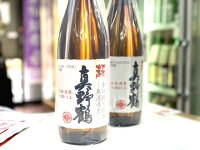 新潟県・真野鶴純米超辛口原酒ひやおろし1.8L※要冷蔵