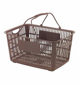 厨房用品/料理道具/バット・番重・コンテナショッピングバスケット U−33 ブラウン 4-0145-130...