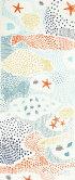 【メール便OK】にじゆら注染絵手拭い「sea-sea」【RCP】05P05July14