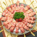 送料無料 生串 純系名古屋コーチン焼き鳥!正肉(モモ・ムネ)串20本です。(冷凍保存)プレゼント 鶏...