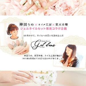【送料無料】神田うのプロデュースジェルネイルスターターキット