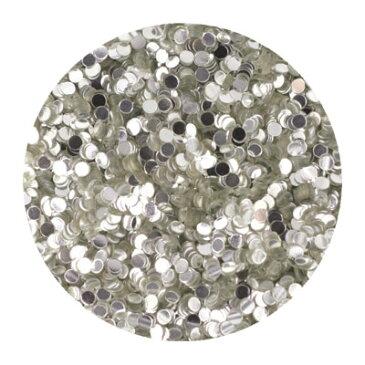 ネイルアート ラメ ホログラム グリッター erikonail エリコネイル JC ERI-192 ホロ純銀シルバー 1mm