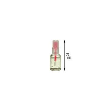 ネイルケース NFS カラーキャップ空ボトル レッド 12ml