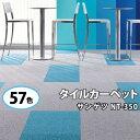 【20枚以上専用ページ】 タイルカーペット サンゲツ 50×50 カーペット NT350 NT-350 シリーズ 全57色 NT-350L NT350L NT-350V NT350V