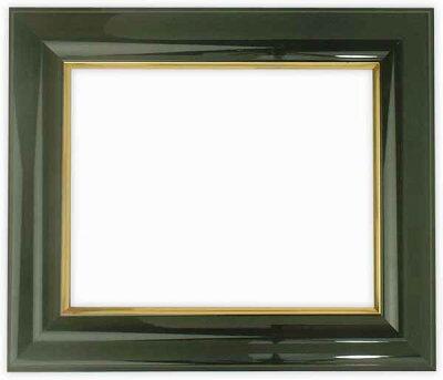 【送料無料】デッサン額縁681/黒三三サイズ(606×455mm)【木製額縁】【デッサン額縁】正面画像