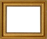 【アウトレット】 デッサン額縁 8111/ゴールド B5サイズ(257×182mm)【8111/ゴールド/B5/ガ】【絵画/壁掛け/インテリア/玄関/アートフレーム】