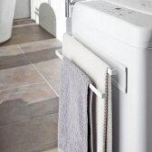 洗濯機横マグネットタオルハンガー 2段 プレート