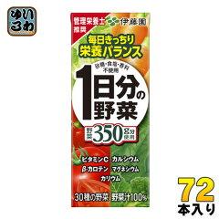 伊藤園1日分の野菜(野菜ジュース)