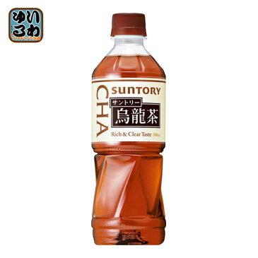 〔クーポン配布中〕サントリー ウーロン茶 (VD用) 500ml ペットボトル 48本 (24本入×2 まとめ買い)〔Suntory お茶 業務用にも 自販機用 自動販売機〕