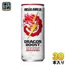コカ・コーラ リアルゴールド ドラゴンブースト 250ml 缶 30本入〔エナジードリンク 炭酸 DRAGON BOOST REAL GOLD 6種の東洋素材〕