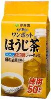 伊藤園ワンポットほうじ茶ティーバッグ50袋×10入