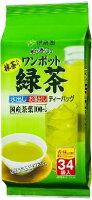 伊藤園ワンポット緑茶ティーバッグ34袋×10入