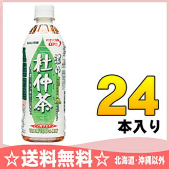 500 ml of 24 Eucommia Bark tea pet Motoiri [] which have dark sun Gaul