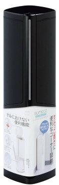 【送料無料】【日本製】 トイレすみっこ ペア ブラック 12個セット ブラシ