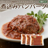 国産 ハンバーグ グラスフェッドビーフ 3食分 冷凍レトルト 温めるだけ 牛肉 放牧 牧草牛 お取り寄せ [冷凍]