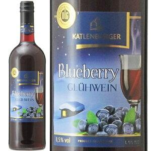 【在庫処分セール】ドクターディムース カトレンブルガー ブルーベリー グリューワイン 750ml ホットワイン Hotwine フルーツワイン ドイツ 果実酒 ※旧ラベル