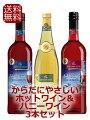 【送料無料】ドクターディムースグリューワイン(ホットワイン)&ハニーワインからだにやさしい3本セット