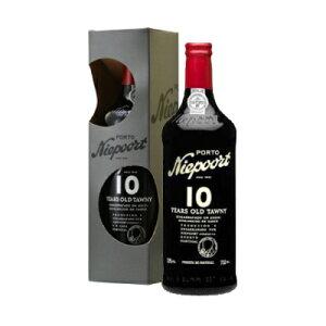 トウニーポート 10年 750ml ニーポート ポルトガル ポートワイン フォーティファイドワイン 甘口 デザートワイン