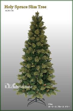 クリスマスツリー 210cm ホーリースプルーススリムツリー