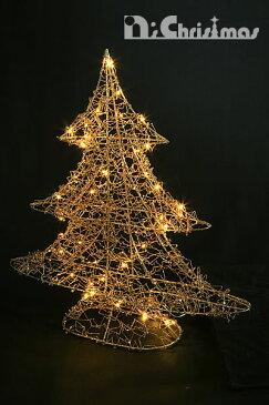 イルミネーション ツリー クリスマスツリー 電飾 led 電池式LEDゴールドイルミネーション ツリー