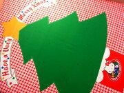 タペストリークリスマスツリーハローキティ