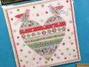 ペーパーナプキン(デコペーパー)白×赤×キミドリ
