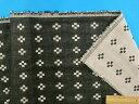 綿ダブルガーゼ生地(リバージブル)黒(140cm幅 1m)