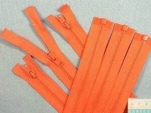 オープンファスナー(60cm)3本セットオレンジ
