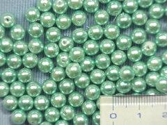 パールビーズ(6mm)パールグリン