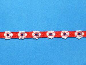 チロルテープ赤x白