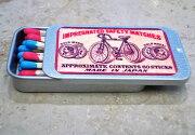 ポケット缶マッチ・レトロラベル自転車003