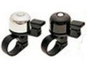 [東京ベル]「チビ丸ピコベル」TB-510・ワン径:27.8mm・対応ハンドル径:ф22.2mm・材質:アルミ・樹脂・カラー:クロ/クロ・ミガキ/クロ