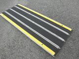 【中古スロープ】【長さ200×幅73.5cm】デクパック車椅子・電動車いす用段差解消スロープ 【シニア200】