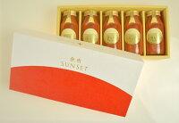 トマトジュース ギフト 余市SUNSET(180ml 5本セット) 最高級ジュース 北海道 【父の日】【お返し】【送料無料】 還暦祝 誕生日 プレゼント 30代 40代 50代 60代 花以外 内祝 お礼