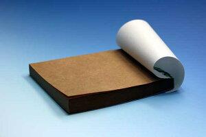 クラフト用紙のメモ帳 4冊(100枚/冊) 【まかないメモ帳第2弾】