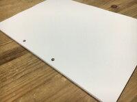 プリンタ帳票用紙500枚(ファイル穴2個付)A4サイズ