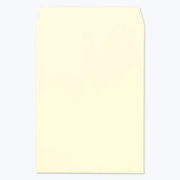 ハート パステルカラー封筒 角3 パステル クリーム 100g/m2 ヨコ貼 枠なし 200枚 kr0331