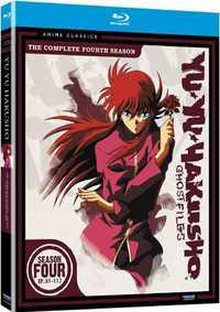 幽遊白書 4 BD (85-112話 620分収録 北米版) Blu-ray ブルーレイ【輸入品】