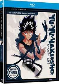 幽遊白書 3 BD (57-84話 620分収録 北米版) Blu-ray ブルーレイ【輸入品】