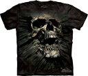 The Mountain Tシャツ Breakthrough Skull (Breakthrough スカル メンズ 男性用 男女兼用) XL-4L 【輸入品】 大きいサイズ 半袖