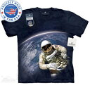 The Mountain Tシャツ The Smithsonian First American Space Walk (The Smithsonian 宇宙 宇宙飛行士 メンズ 男性用 男女兼用 ) XL-4L 【輸入品】 大きいサイズ 半袖