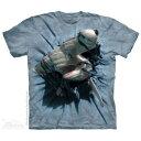 The Mountain Tシャツ Hammerhead Breakthrough (サメ メンズ 男性用 男女兼用 ) XL-4L 【輸入品】 大きいサイズ 半袖