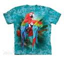 The Mountain Tシャツ Macaw Mates (オウム 鸚鵡 メンズ 男性用 男女兼用) S-L【輸入品】半袖