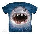 The Mountain Tシャツ Wicked Nasty Shark (サメ 鮫 メンズ 男性用 男女兼用) S-L【輸入品】半袖