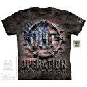 The Mountain Tシャツ OHT Americana ( Operation Hat Trick 軍隊 メンズ 男性用 男女兼用 ) XL-4L 【輸入品】 大きいサイズ 半袖